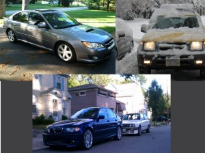 The vehicles of the Sons of Taki